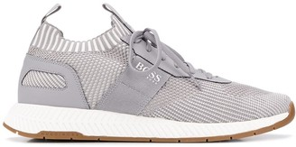 HUGO BOSS Knitted Upper Sneakers
