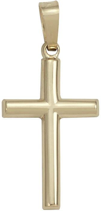 JCPenney FINE JEWELRY 14K Yellow Gold Cross Pendant