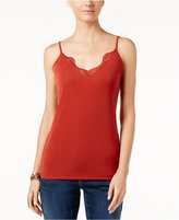 INC International Concepts Lace-Trim Camisole, Only at Macy's