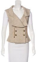 Chanel Silk Tweed Vest