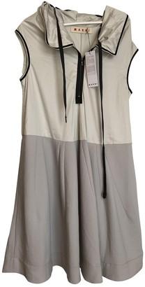 Marni Grey Cotton Dresses