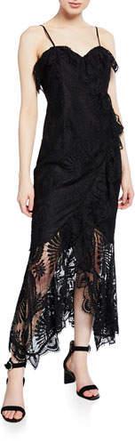 Bardot Melinda Sleeveless Lace Cocktail Dress