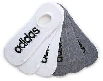 adidas Super Men's No Show Socks - 6 Pack