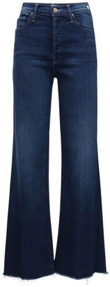 Mother The Tomcat Roller Flared Denim Jeans