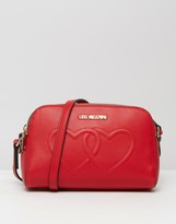 Love Moschino Double Heart Shoulder Bag
