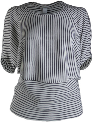 Format MIND ecru striped shirt - M