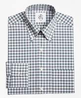 Brooks Brothers Gingham Button-Down Shirt
