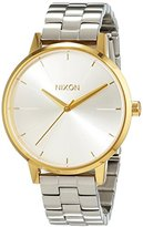 Nixon Women's Quartz Watch Analogue Display and Stainless Steel Strap A0992062-00