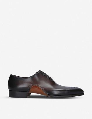 Magnanni Opanka wholecut leather oxford shoes