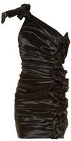 Isabel Marant Nyree one-shoulder ruched mini dress