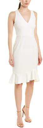 Betsey Johnson Scuba Crepe Sheath Dress