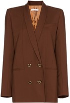 REJINA PYO double-breasted wool blazer