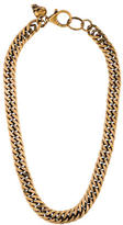 McQ by Alexander McQueen Curb Chain Skull Necklace