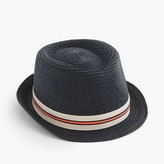 J.Crew Kids' striped band trilby hat