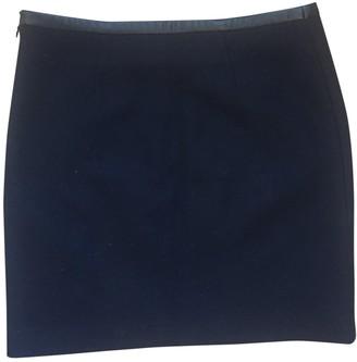 Comptoir des Cotonniers Navy Wool Skirt for Women