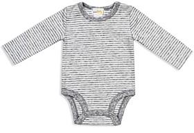 Bloomie's Unisex Striped Bodysuit - Baby