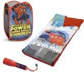 Marvel Cool Spiderman Sleepover Set with BONUS Hamper by