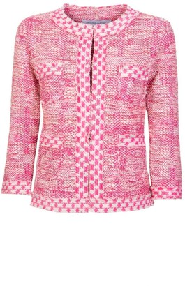 The Extreme Collection Pink Tweeted Jacket Rebeca