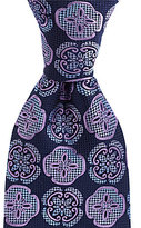 Murano Big & Tall Pedal Medallion Traditional Silk Tie