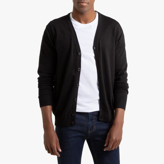 La Redoute Collections Buttoned Cardigan