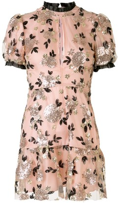 macgraw Sparrow floral mini dress
