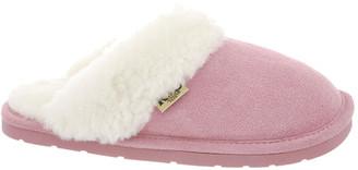 Cloud Nine Sheepskin Women's Slippers Pink - Pink Scuff Suede Slipper - Women