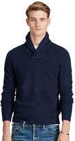 Polo Ralph Lauren Merino-Cashmere Shawl Sweater
