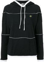 Telfar striped hoodie