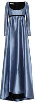 Philosophy di Lorenzo Serafini Dotted jacquard gown