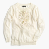 J.Crew Tippi sweater with ruffles
