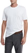 Brunello Cucinelli Cotton Crewneck T-Shirt, White