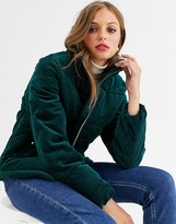 Vero Moda cord velvet padded jacket