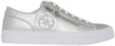 GUESS Gemica Silver Smooth Sneaker