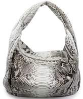 Fiona's Collection Python Leather Hobo Bag