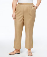 Alfred Dunner Plus Size Emerald Isle Collection Straight-Leg Pants