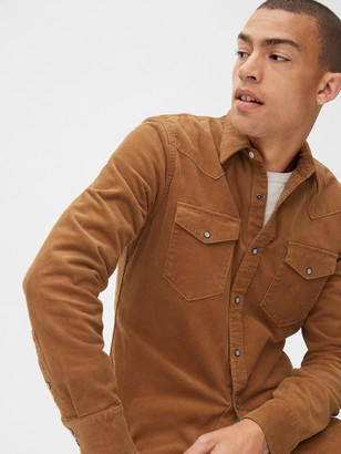 Gap Western Corduroy Shirt