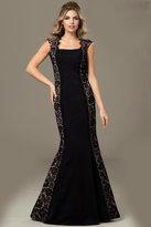 Jovani Sleeveless Mermaid Long Gown 98174