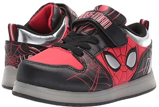 Favorite Characters Spidermantm Walk Motion CL SPF378 (Toddler/Little Kid) (Red) Boy's Shoes