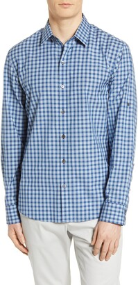 Zachary Prell Plaid Button-Up Shirt