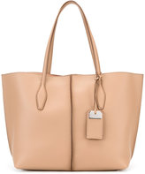 Tod's double handles tote - women - Leather - One Size