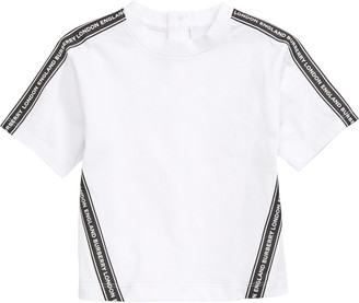 Burberry Ross Logo Stripe T-Shirt