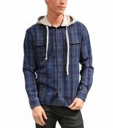 Quiksilver Men's Wildhorn Hooded Long Sleeve Shirt 8115975