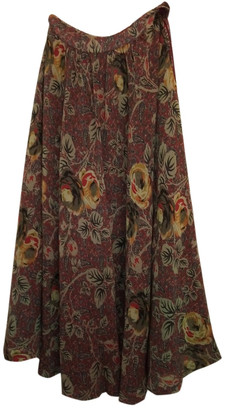 Georges Rech Brown Wool Skirts