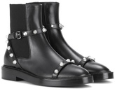 Balenciaga Giant Leather Chelsea Boots