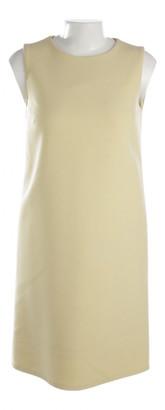 Dolce & Gabbana Yellow Wool Dresses