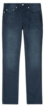 Sandro Paint Straight Jeans