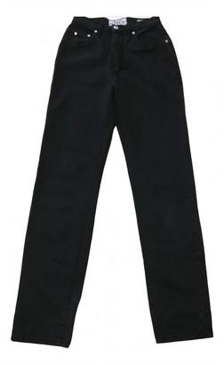 Non Signã© / Unsigned Black Cotton Jeans