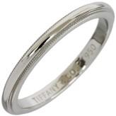 Tiffany & Co. 950 Platinum Milgrain Wedding Band Ring