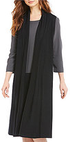 Eileen Fisher Shawl Collar Long Vest