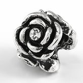 Olympia Blooming Rose Bead Charm - Compatible & Fits Major Brand Name Brand Bracelets